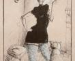 "S/T exposición ""10 de 10"" Mixta sobre papel 31x21cm"