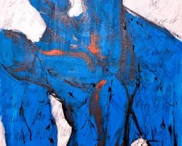 Ángel azul