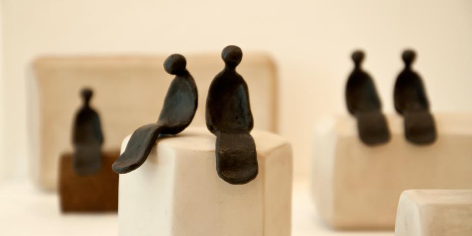"""Inauguración """"Escultura en femenino y masculino"""""""
