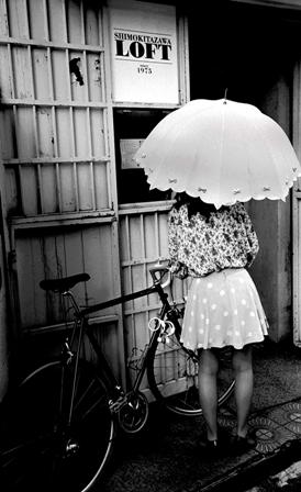 chica paraguas bici-rafa-fernandez