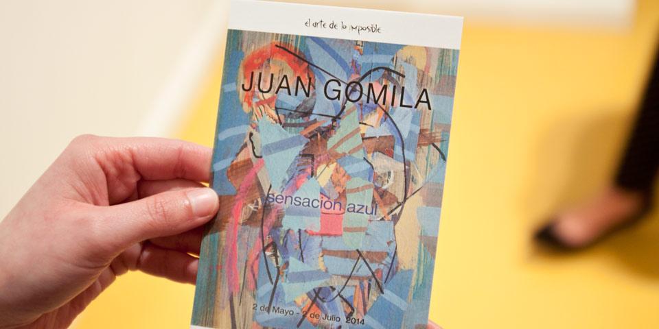 """Inauguración Juan Gomila """"Sensación Azul"""""""