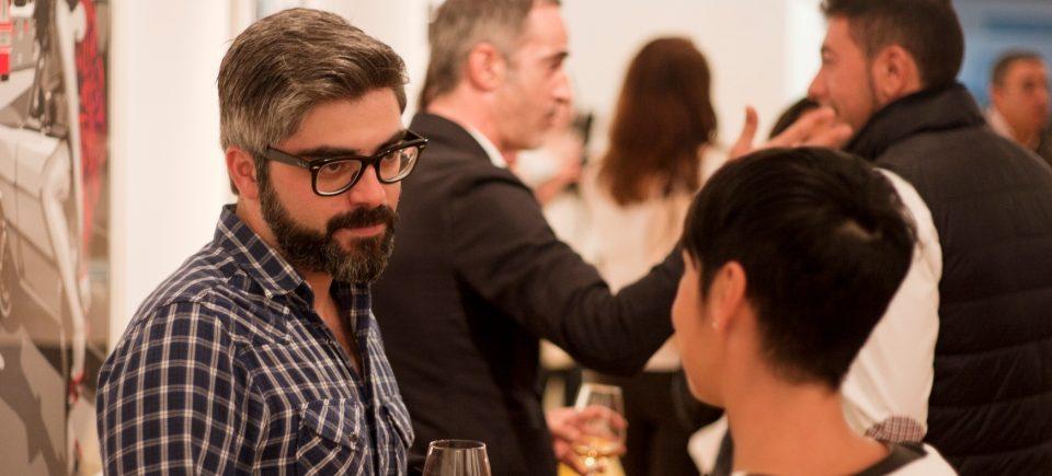 Inauguración Italian Pop Art · Noche Blanca