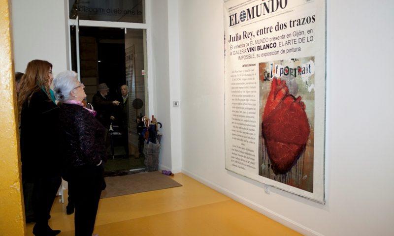 """Inauguración de """"Pinturas"""" de Julio Rey"""