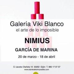 Inauguración del fotógrafo García de Marina