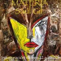 """Exposición """"Materia"""" de Saúl Gil"""