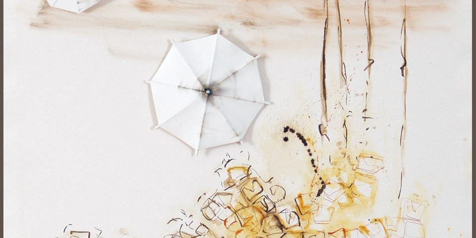 """Inauguración """"Materia de levedad"""" de Carmen Isasi"""