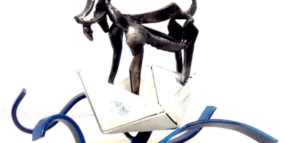 """Inauguración """"Como les cabres!!"""" de Kiko Urrusti"""