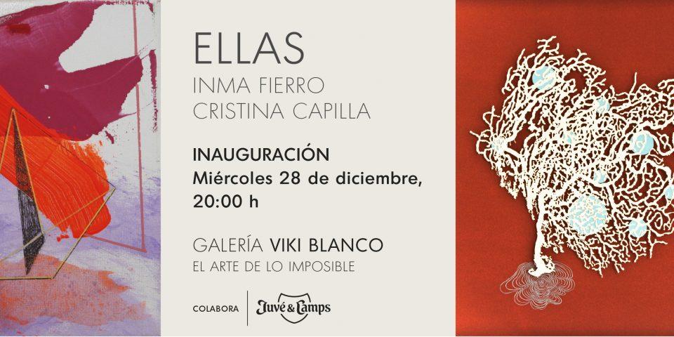 """Inauguración """"ELLAS"""" de Inma Fierro y Cristina Capilla"""