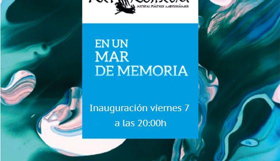 """Inauguración """"En un mar de memoria"""" del colectivo Art Nostrum"""