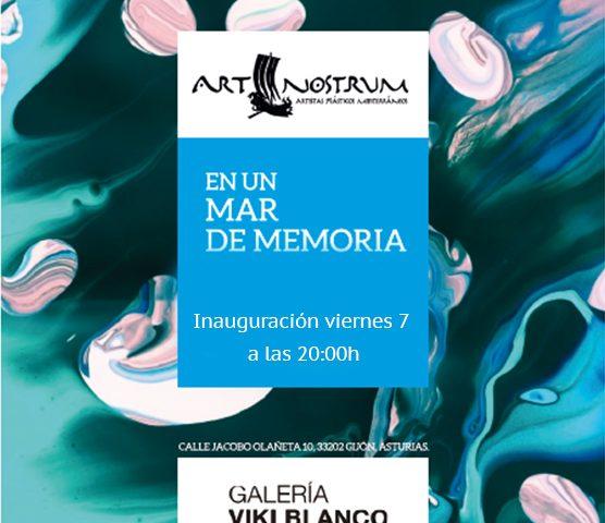 """Inauguración exposición """"En un mar de memoria"""" del colectivo Art Nostrum"""