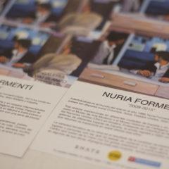 Inauguración de la exposición de Nuria Formentí
